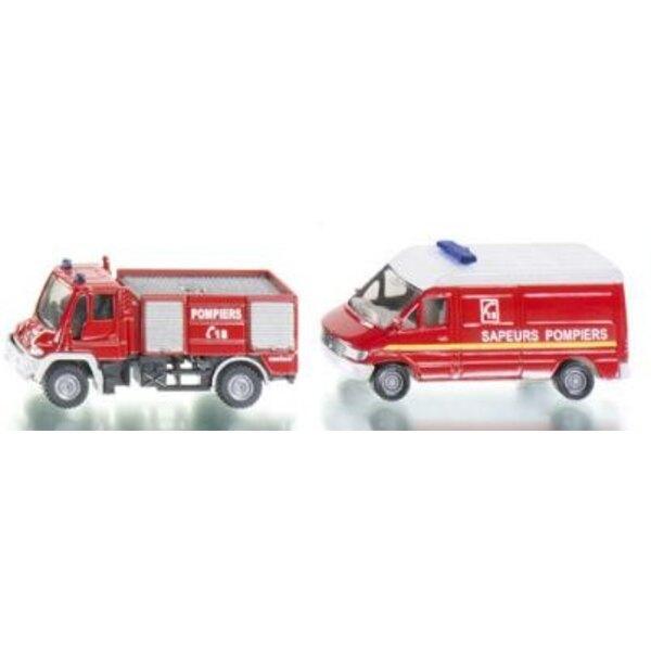 set pompiers france 1/87