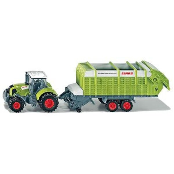 Tracteur with Trailer 1:87