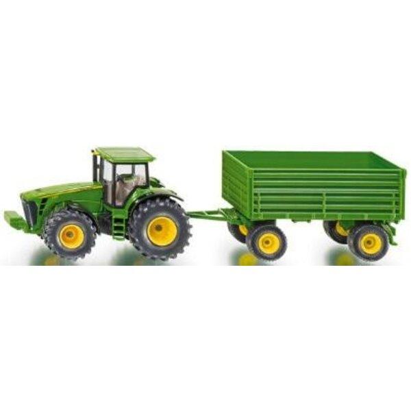 tracteur et remorque 1/50