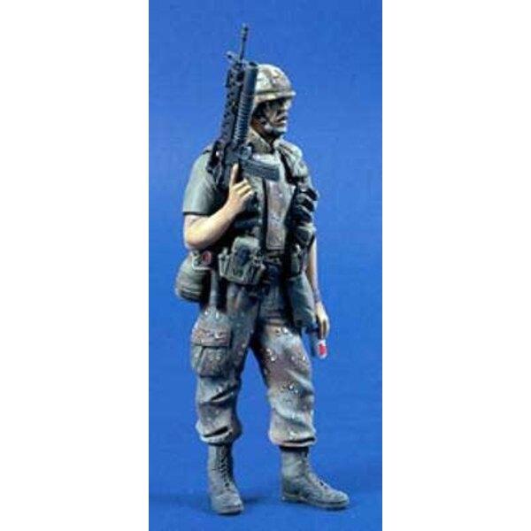 US Infantryman Gulf War 120mm