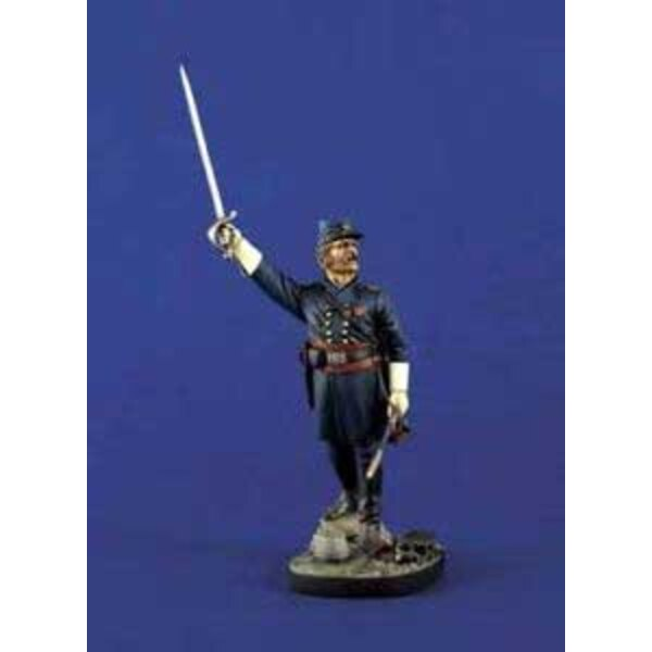 Union Infantry Officer 120mm