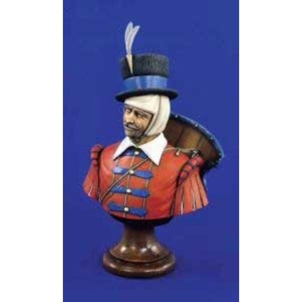 Bust of Croatian Hussar 16Th Century Ad 200mm
