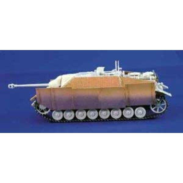 kit jupe jagdpanzer 4 1/35