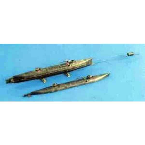 Hunley Mini Submarine 1:32