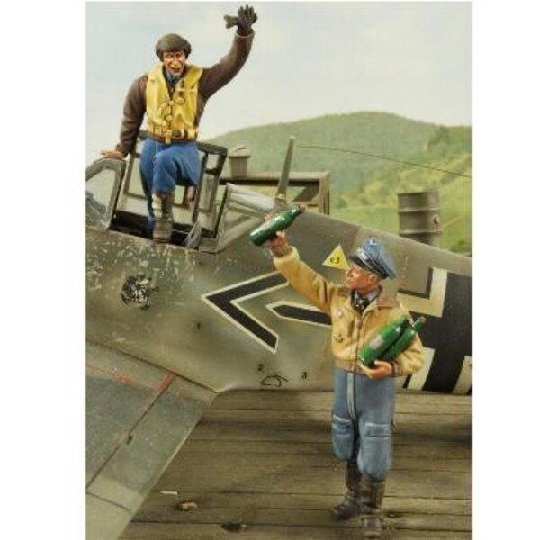2 as pilotes de chasse 1/32