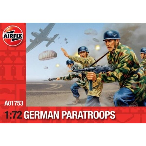 WWII German Paratroopers