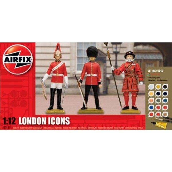 London Icon. Grenadier Guard Coldstrwam Guard and Yeoman of the Guard (Beefeater)