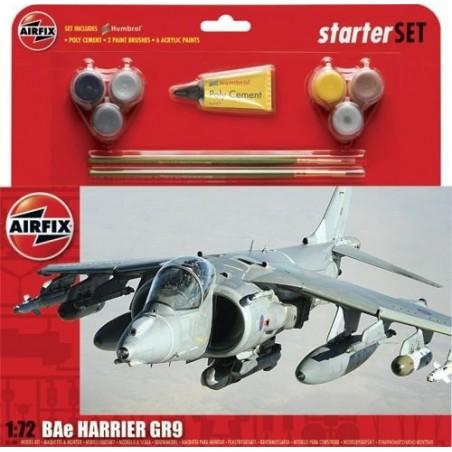 Harrier GR.9 - Kit pour débutant avec peintures acrylique colle incluses