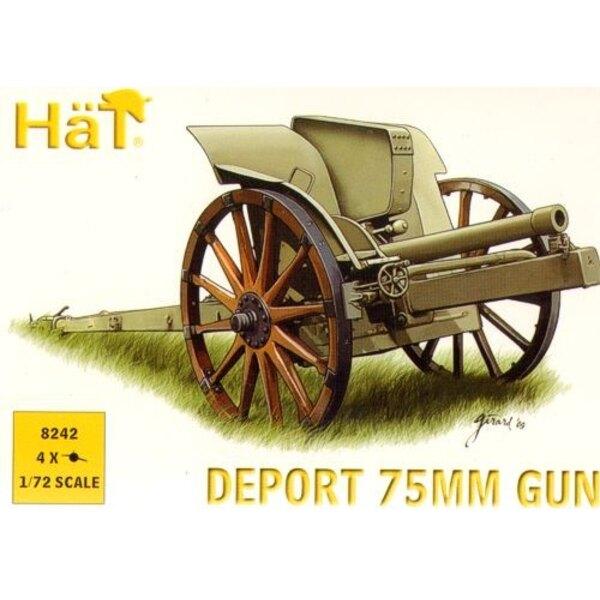 Canon de 75 mm italien 1ère GM