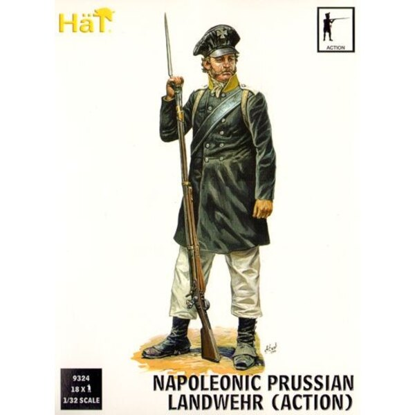 Landwehr prussienne en action