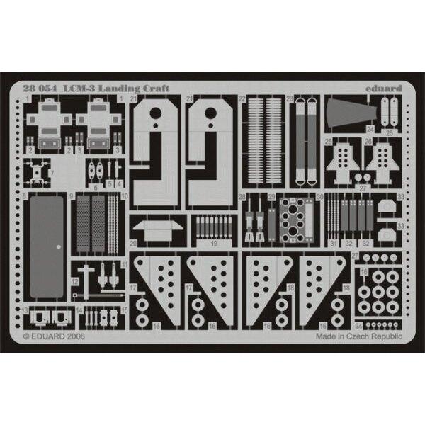 LCM-3 péniche de débarquement (pour les maquettes Hobby Boss) 84817