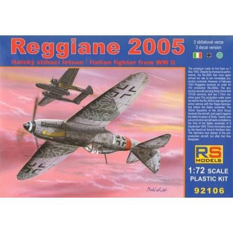 Reggiane Re.2005 What if markings.