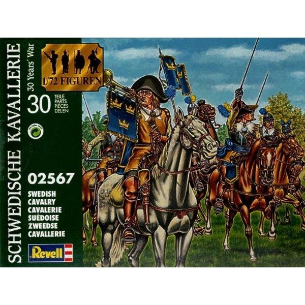 Cavalerie suédoise. Guerre de Trente Ans. (Celles-ci ont été produites par Revell pour Waterloo1815 Italie)