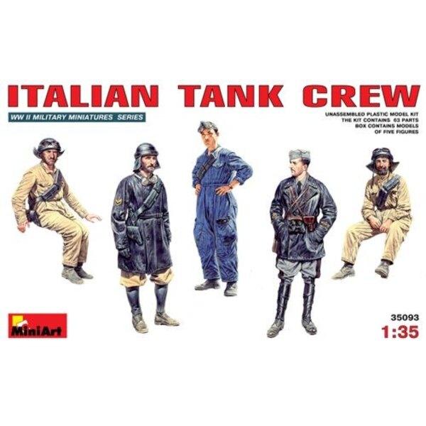 Équipage de char italien (2ème GM)