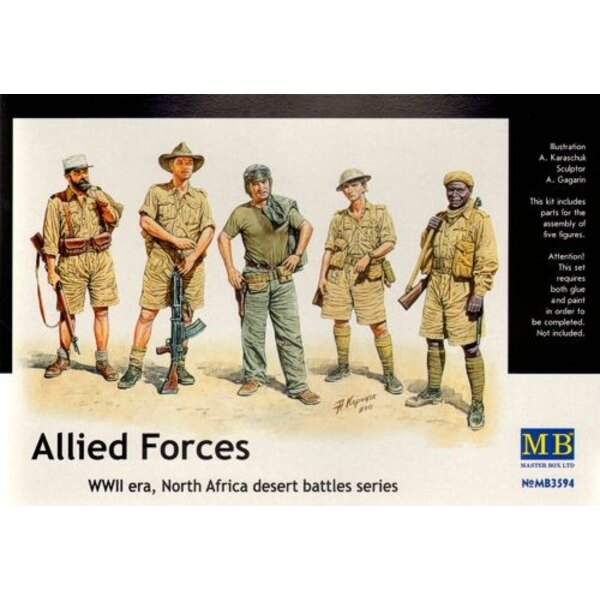 Allied Forces, WWII, North Africa desert battles series