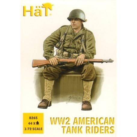 Infanterie portée américaine (2ème GM)