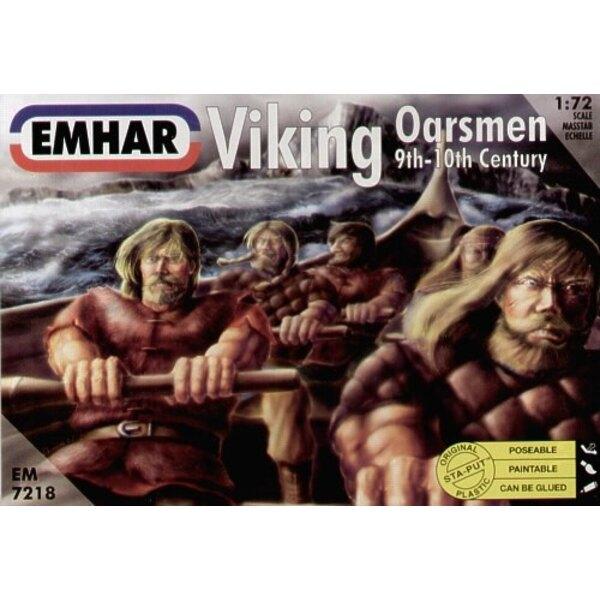 Viking Oarsmen (32 Figures)