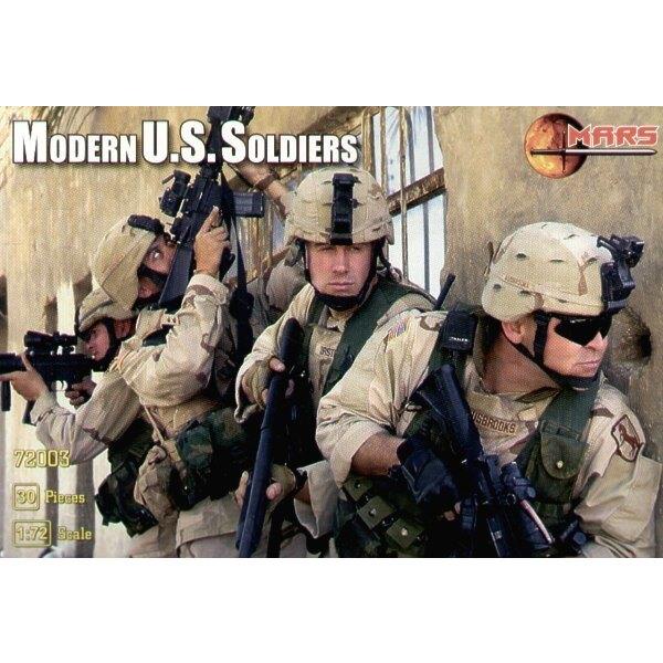Soldats américains modernes