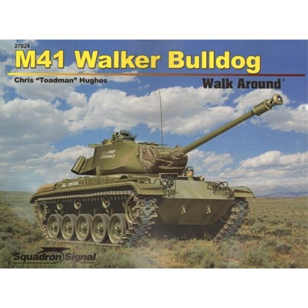 M41 Walker Bulldog Walk Around (Soft Cover)