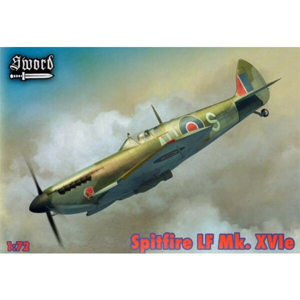 Supermarine Spitfire versions Mk.XVIe LF pour TB634, TB520, SM471 Comprend les canons et les échappements en résine