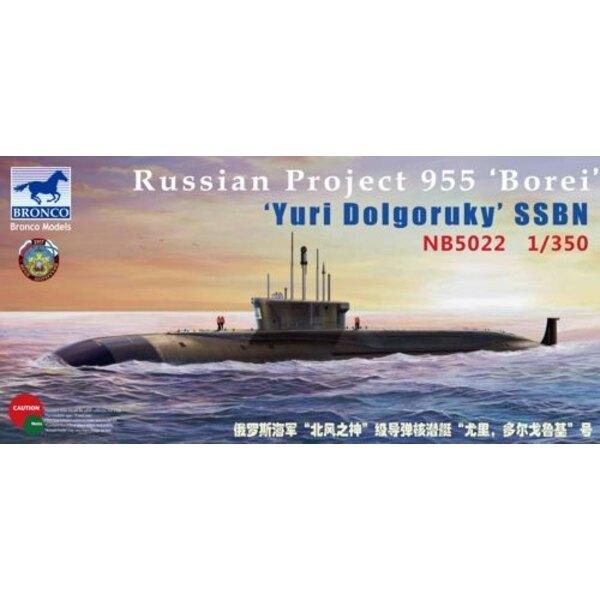 Projet 955 'Borei' 'SNLE Iouri Dolgorouki'