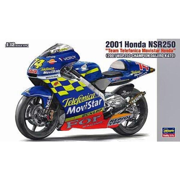 Honda RS250RW Team Telefonica Movistar Honda ′2001 WGP250 Champion Daijiro Kato′