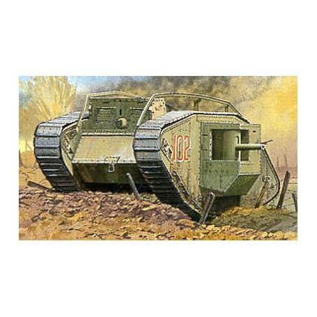 Mark IV Première Guerre mondiale Char 'Mâle'