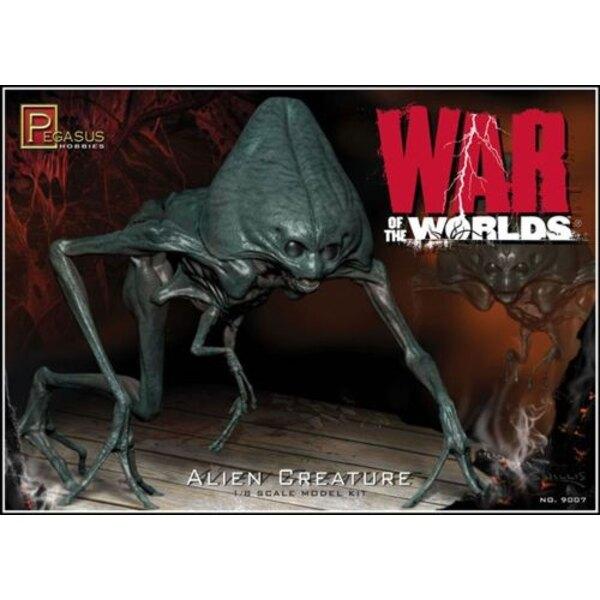 Créature Alien de la «guerre des mondes»