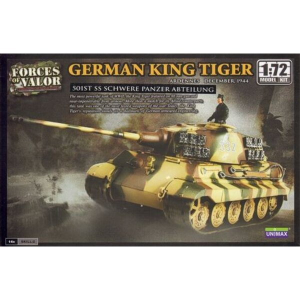 King Tiger - WARNING : this is a model kit and NOT a ready built miniature
