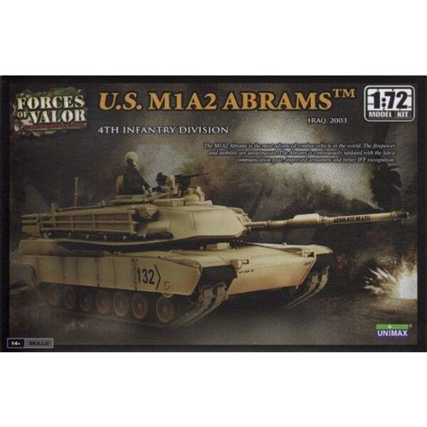 M1A2 Abrams - ATTENTION : c'est une maquette à monter et peindre et PAS une miniature déjà montée