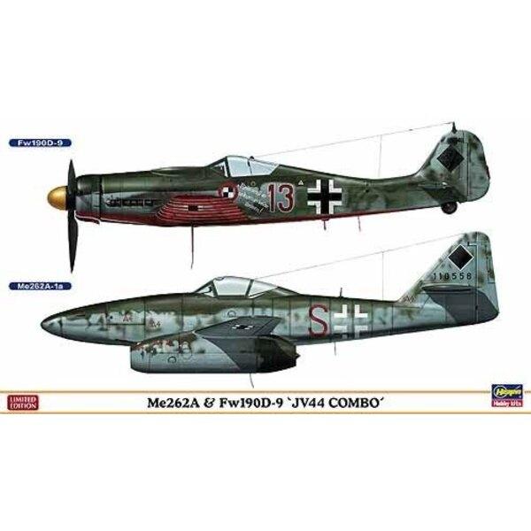 Me 262 & Fw 190D-9 JV 44 combo : 2 maquettes dans la boîte