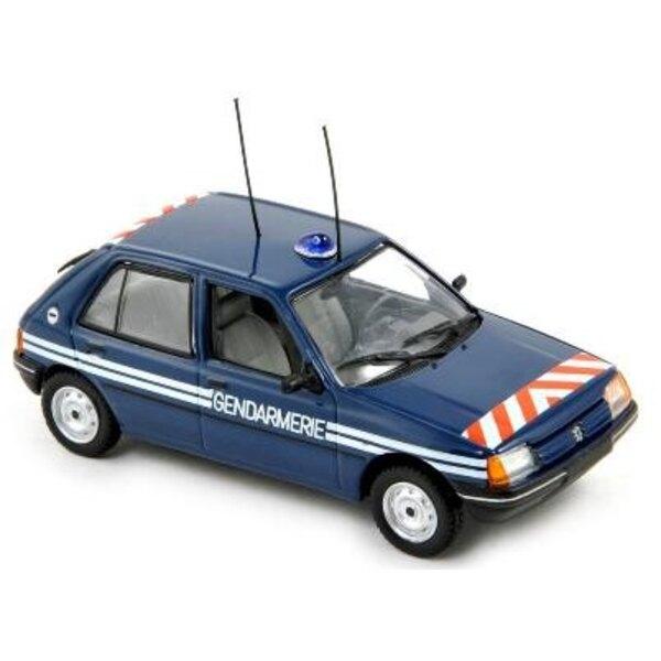 205 peugeot 1988 gendarmer 1/43