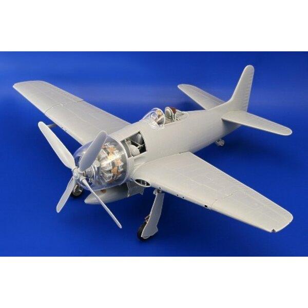 extérieur de Grumman F8F Bearcat (pour maquettes Trumpeter)