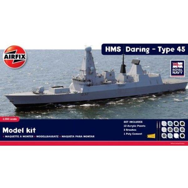 HMS Daring type 45 Destroyer - coffret cadeau
