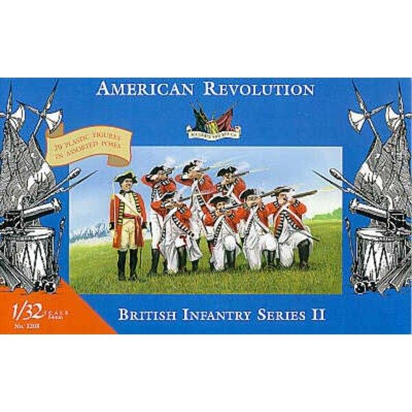 Guerre d'indépendance américaine : infanterie britannique - 1/32 - Accurate Figures CF3208