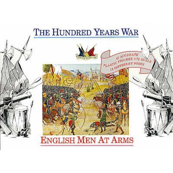 Hommes d'armes anglais - 1400 - 1/72 - Accurate Figures CF7206