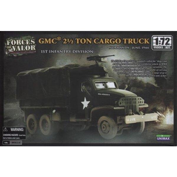 Le camion de 2.5 tonnes de GMC - ATTENTION : c'est une maquette à monter et peindre et PAS une miniature déjà montée