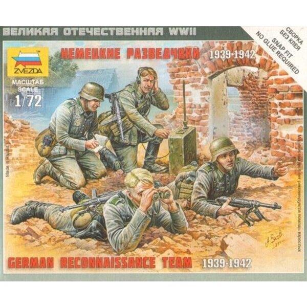 Peloton de reconnaissance allemand