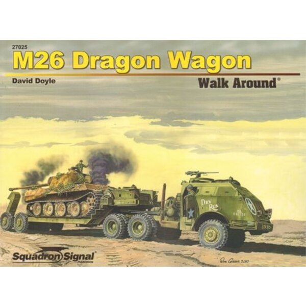 M26 Dragon Wagon (walk around series) by David Doyle (soft back)