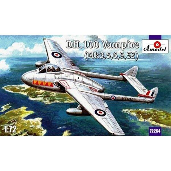Revell 3993  DH Vampire Mk.1  Maquette avion 1/72  le plus grand choix avec