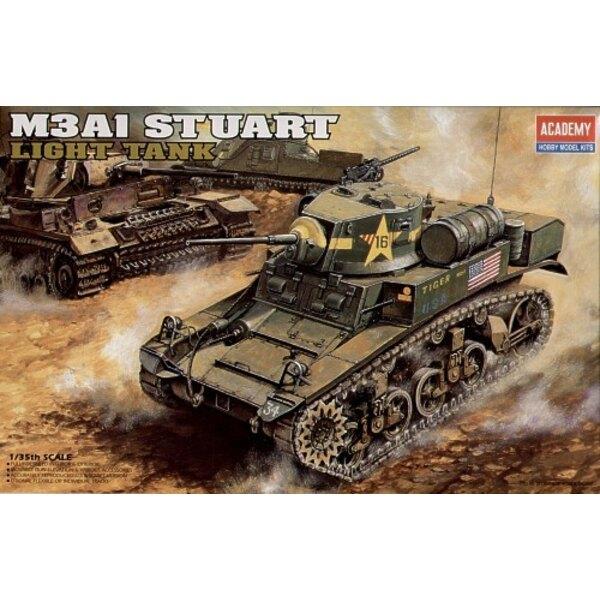 Stuart M3A1 US avec intérieur détaillé