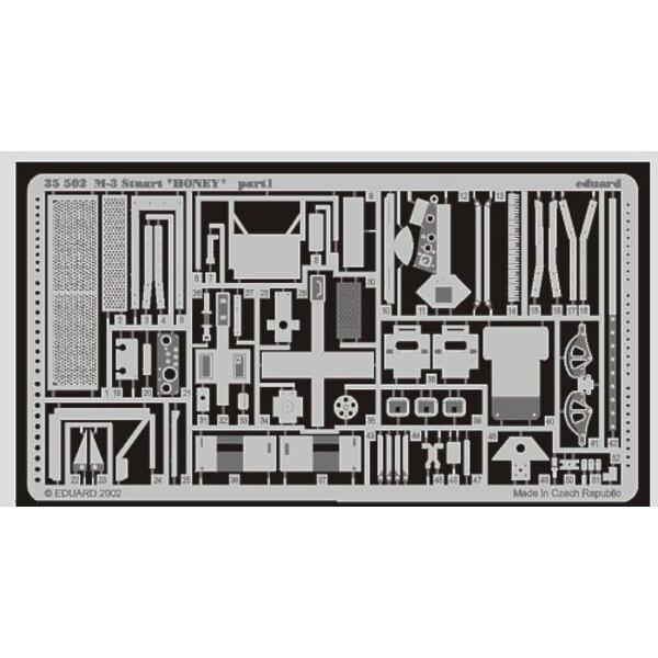 M3 Stuart Honey (pour maquettes Academy)