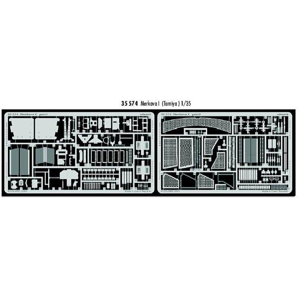 Merkava I (pour Tamiya TA35127 maquettes)