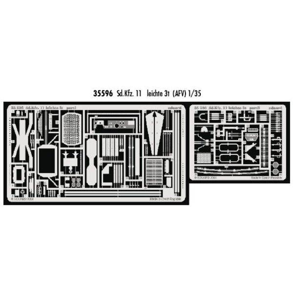 Sd.Kfz.11 leichte 3t (pour maquettes AFV Club)