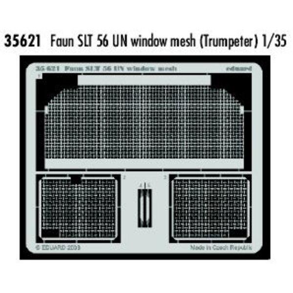 grillage de fenêtre de Faun SLT 56 UN (pour maquettes Trumpeter)