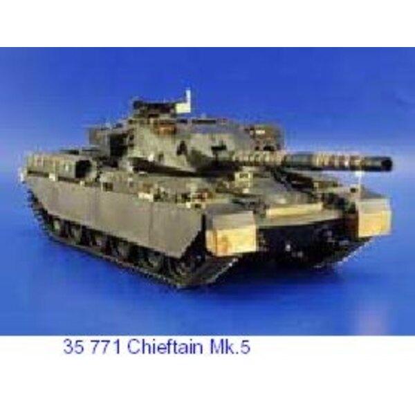 Chieftain Mk.5 (diseñado para ser ensamblado con maquetas de Tamiya TA35068)
