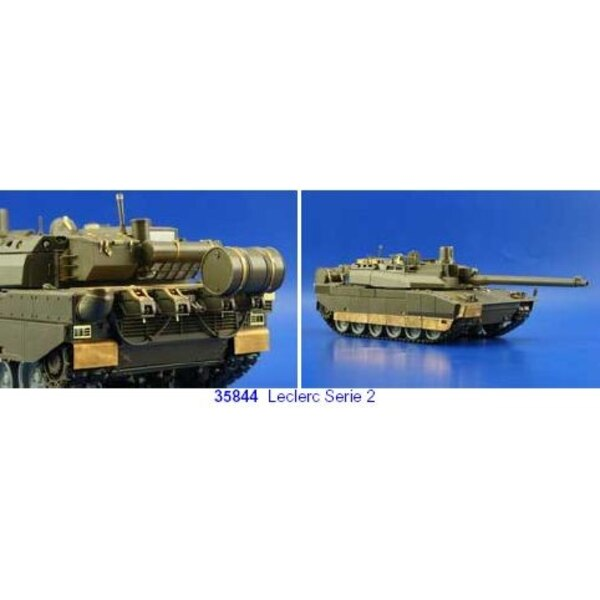 Leclerc series 2 (designed to be assembled with model kits from Tamiya TA35279)
