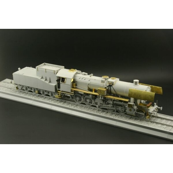 BR 52 Kriegslocomotive exterior (designed to be assembled with model kits from Trumpeter)