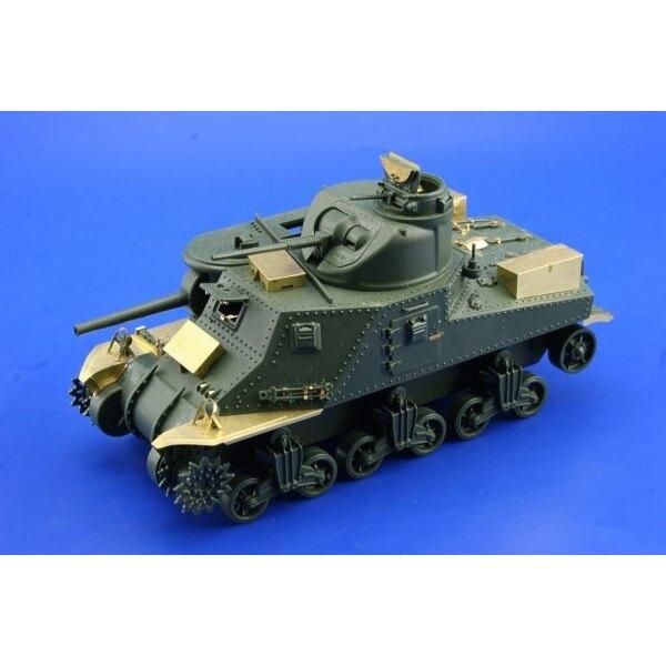 Extérieur de M3 Lee (pour maquettes Academy d'AC13206)