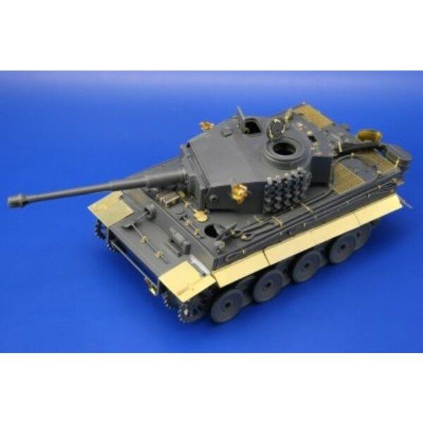 Tiger I Ausf. E primitif (pour Tamiya TA35216 maquettes)